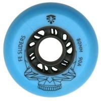 Колеса для роликовых коньков Flying Eagle Sliders 72-80mm/90А. Синий