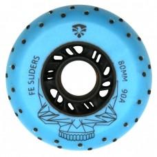 Колеса для роликов Flying Eagle Sliders +Spark 80mm/90A. Синий