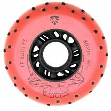 Колеса для роликов Flying Eagle Sliders +Spark 80mm/90A. Красный
