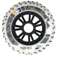 Колеса для роликов Flying Eagle Speed +Spark 110mm/85A. Белый