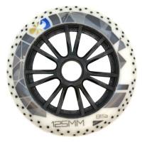Колеса для роликов Flying Eagle Speed +Spark 125mm/85A. Белый