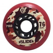 Колеса для роликовых коньков ProSlide 72mm/90A. Красный