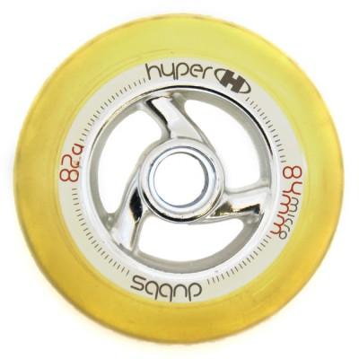 Купить Колеса для города Колеса для роликов Hyper DUBBS 84mm/82А под микроподшипник в магазине RollBay.ru