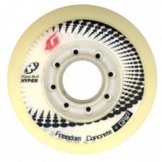 Колеса для роликов Hyper Concrete 76mm/84A. Белый