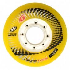 Колеса для роликов Hyper Concrete 76mm/84A. Желтый