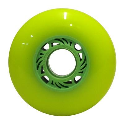 Колеса для роликов One Piece 80mm/88А. Зеленый без принта в магазине Rollbay.ru
