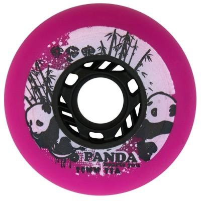 Колеса для роликовых коньков Panda 80mm/88A. Розовый в магазине Rollbay.ru