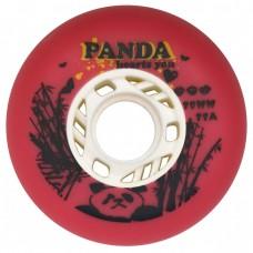 Колеса для роликов Panda 80mm/88A. Красный