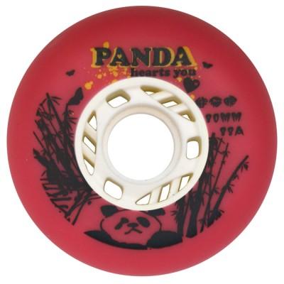 Колеса для роликовых коньков Panda 80mm/88A. Красный в магазине Rollbay.ru