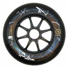 Колеса для роликовых коньков PowerSlide 125mm/88А. Черный