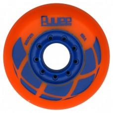 Колеса для роликовых коньков PUYEE 80mm/88A. Оранжевые
