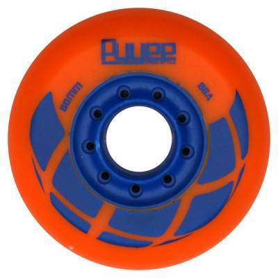Купить Товары со скидкой Колеса для роликов PUYEE 80mm/88A. Оранжевые в магазине RollBay.ru