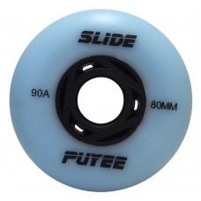 Колеса для роликов Puyee Slide 76-80mm/90A. Голубой
