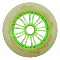 Колеса для роликов Fox 125mm/85A. Зеленый