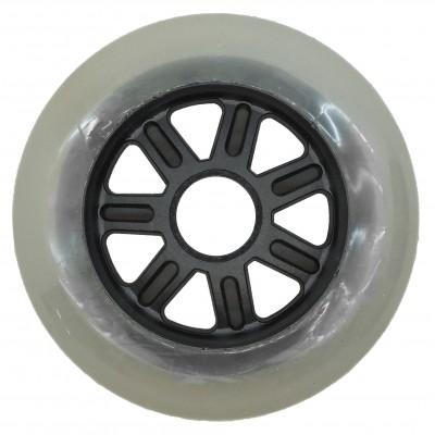 Колеса для роликов NoName 100mm/85А. Серый. Без принта в магазине Rollbay.ru