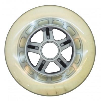 Колеса для роликов NoName 80mm/83A. Серый в магазине Rollbay.ru