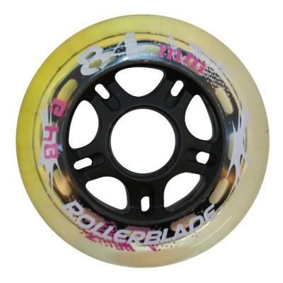 Колеса для роликовых коньков Rollerblade 84mm/84A. Розовый в магазине Rollbay.ru