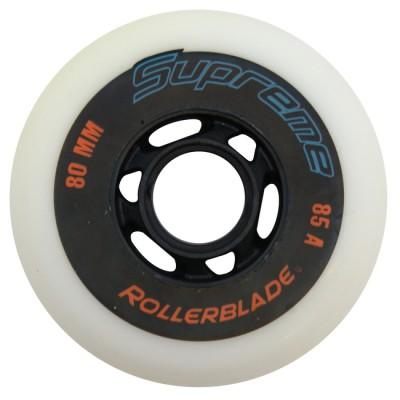 Купить Колеса для слалома Колеса для роликов Rollerblade Supreme 80mm/85А в магазине RollBay.ru