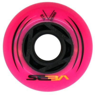Колеса для роликов детские SEBA KSJ Junior 68mm/85А. Розовый в магазине Rollbay.ru