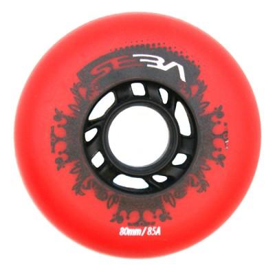 Колеса для роликовых коньков Seba Street Kings 80mm/85A. Красный в магазине Rollbay.ru