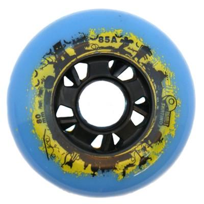 Колеса для роликов Skating Halloween 80mm/85А. Синий в магазине Rollbay.ru