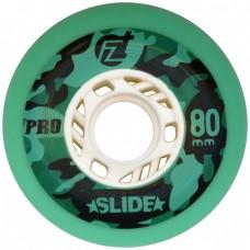 Колеса для роликовых коньков ProSlide 80mm/90A. Зеленый