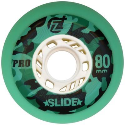 Колеса для роликов ProSlide 80mm/90A. Зеленый в магазине Rollbay.ru