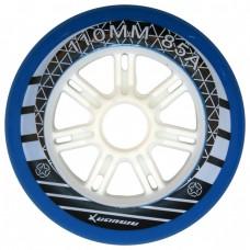 Колеса для роликов XuanWu 110mm/85А. Синий