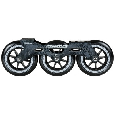 Купить 3х-колесная ходовая в сборе  Сет для роликов Powerslide Megacruiser 255mm 3x125mm в магазине RollBay.ru