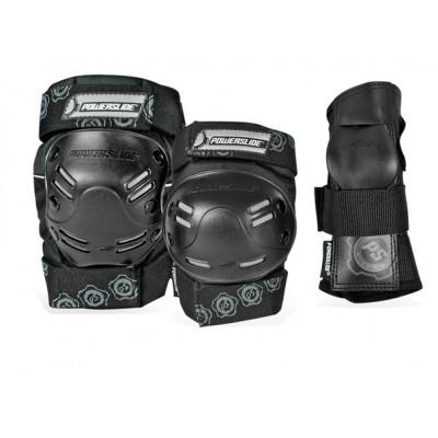 Защита для роликов Powerslide Protection Tri-pack Men в магазине Rollbay.ru