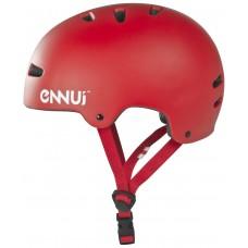 Шлем для роликов и самоката Ennui BCN Helmet 54-58. Красный