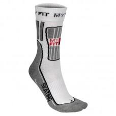 Носки для катания на роликах MyFit Skating Socks White