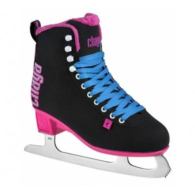 Коньки фигурные Chaya Classic Black/Pink в магазине Rollbay.ru