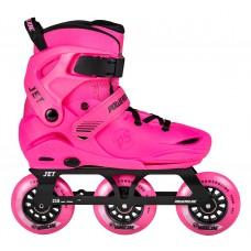 Роликовые коньки детские раздвижные Powerslide Jet Pink
