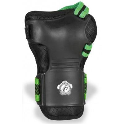 Защита запястья для роликов Powerslide Wristguards Men L/XL. Зеленый в магазине Rollbay.ru