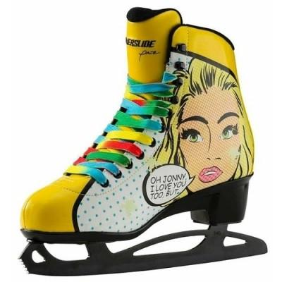 Коньки фигурные Powerslide Pop Art Blondie в магазине Rollbay.ru