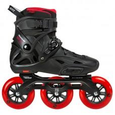 Powerslide Imperial Black Red 3x110