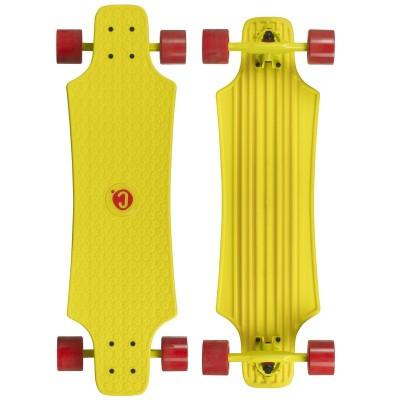 Лонгборд Choke Skateboard Large Lars (Yellow) в магазине Rollbay.ru