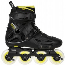 Powerslide Imperial One Black Yellow 4x80