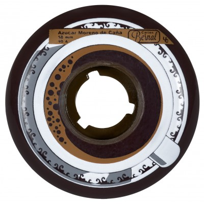 Колеса для роликов Powerslide Undercover Carlos Bernal Foodie 2nd.ED. 58mm/90A 4-Pack в магазине Rollbay.ru