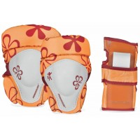 Защита для роликов Powerslide Pro Kids Tri-pack Orange
