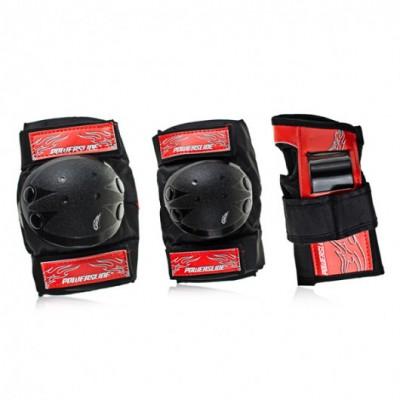 Защита для роликов Powerslide Hervis Boys Tri Pack в магазине Rollbay.ru