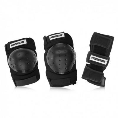 Защита для роликов Powerslide Basic Tri-pack Protection в магазине Rollbay.ru