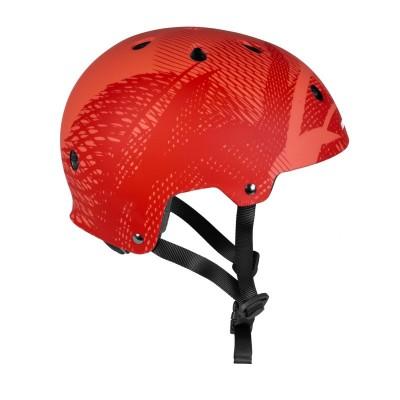 Шлем для роликов и самоката Powerslide Helmet Pro Urban. Красный в магазине Rollbay.ru