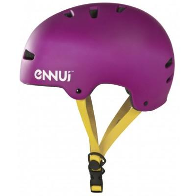 Шлем для роликов и самоката Ennui BCN Helmet 54-58. Фиолетовый в магазине Rollbay.ru
