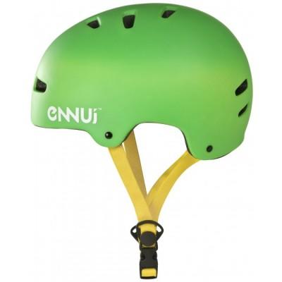 Шлем для роликов и самоката Ennui BCN Helmet 52-58. Зеленый в магазине Rollbay.ru