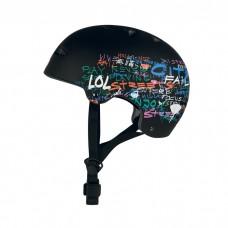 Шлем для роликов и самоката Ennui BCN Black 54-58