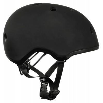 Шлем для роликов и самоката Ennui Elite Black, 54-59 в магазине Rollbay.ru