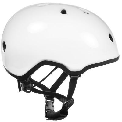 Шлем для роликов и самоката Ennui Elite White, 54-59 в магазине Rollbay.ru