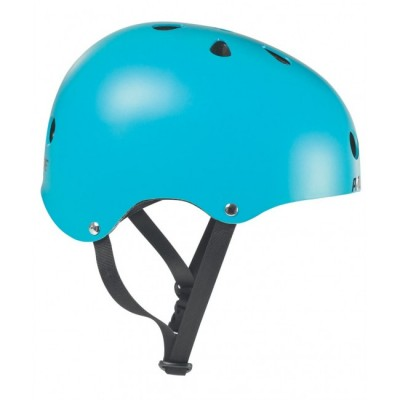 Шлем для роликов и самоката Powerslide Allround. Голубой в магазине Rollbay.ru